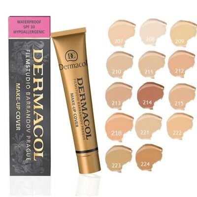 Dermacol- High Cover Makeup Foundation Waterproof Concealer Correct Cream SPF30