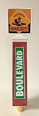Boulevard Brewing Co Wheat Unfiltered Beer Tap Handle Brick Tower New in Box 11""