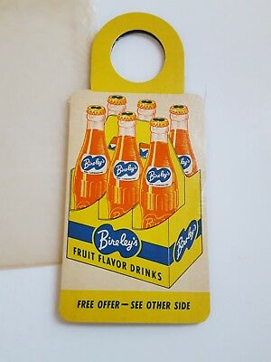Bireley's Soda Cardboard 6 Pak Hanger w/ Sewing Needles Giveaway, W Germany