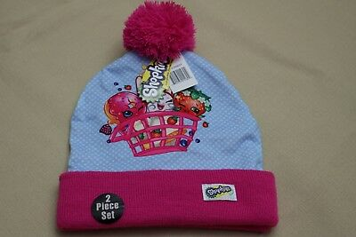 5bd178e9da06a SHOPKINS CHARACTERS HAT and Gloves Cold Weather Set