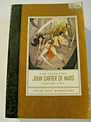 The Collected John Carter of Mars Volume 2 paperback by Edgar Rice Burroughs