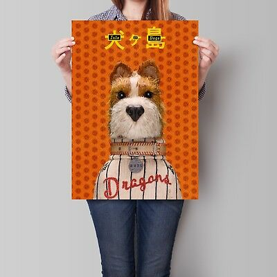 Isle of Dogs Character Posters 2018 Wes Anderson Movie