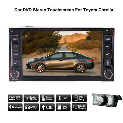 """For Toyota Corolla Car Radio 7"""" HD USB Player BT Touch GPS Map Stereo USB+Camera"""