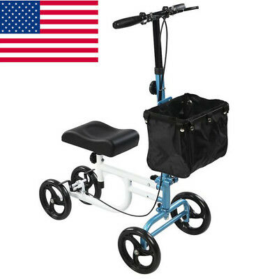 OEM ELENKER All-Road Knee Walker Steerable Medical Scooter Crutch Alternative US