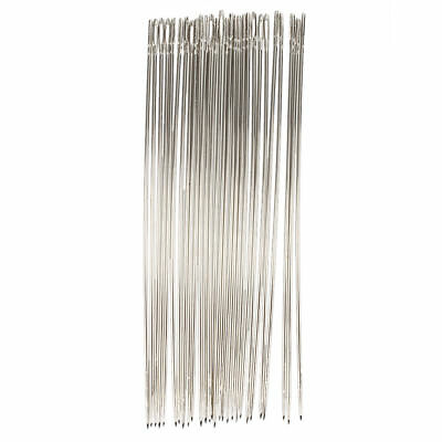 25 Pcs 1.6mm Dia Metal Quilting Tailor Sewing Needles 15cm Long X6R2
