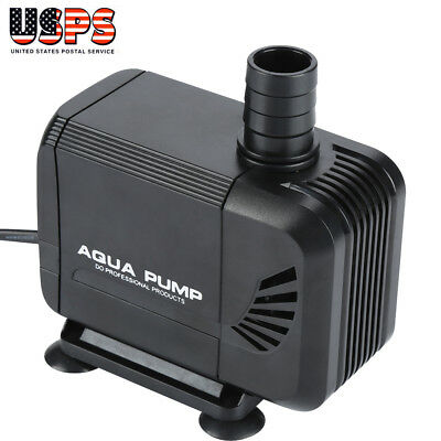 40W 800GPH Submersible Water Pump Fish Tank Aquarium Pond Hydroponics Fountain