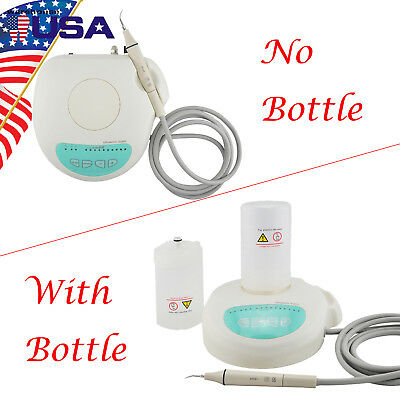 US Portable Dental Ultrasonic Piezo Scaler Handpiece Tips Bottles Fit For EMS