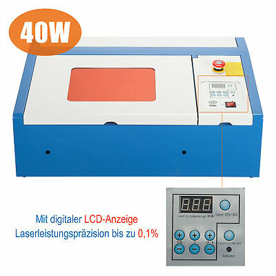 Upgraded 40W CO2 laser graviermaschine cutting tool w/ USB port engraver Cutter
