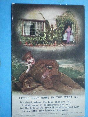 Postcard Song Cards Little Grey Home In The West (2) Songcard