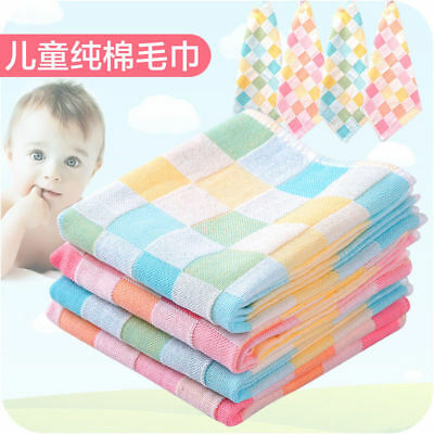 3 Piece Kids Baby Feeding Head Scarf Towel Bib Bandana Saliva Triangle Dribble