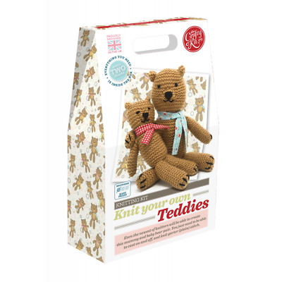 Knit your own Teddies - Knitting for Beginners