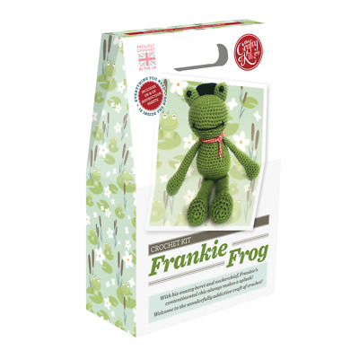 Knit your own Frog - Knitting for Beginners