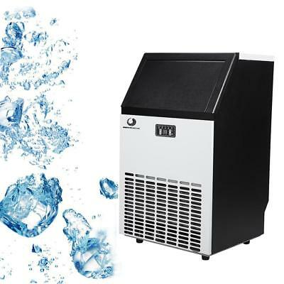 Stainless Steel Commercial Built-In Electric Ice Maker Cube Freestanding Machine