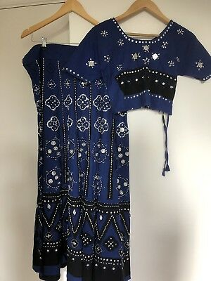 Long Skirt Size 12/14 And Blouse