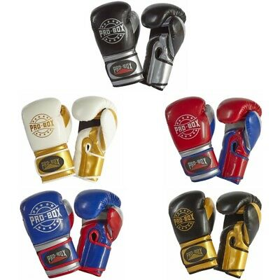 Pro Box Champ Spar Boxing Gloves Adult Kids Training Glove 6 10oz 12oz 14oz 16oz