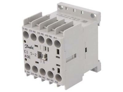 037H350032 Contactor4-pole Auxiliary contacts NO x4 230VAC 10A CI 5  DANFOSS