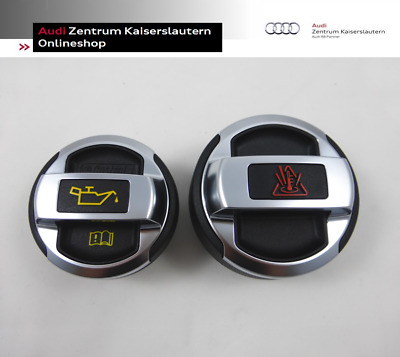 Audi R8 Original Öldeckel + Kühlerdeckel Set 420103485 420121321 VW GTI Skoda RS