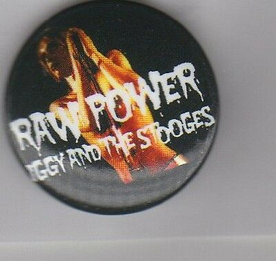 IGGY POP  & THE STOOGES - PUNK CLASSIC ROCK BUTTON BADGE - LUST FOR LIFE 25mm