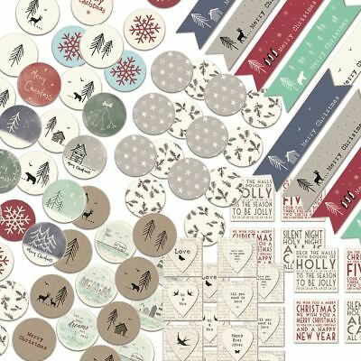 East Of India A4 Sticker Sheets Wedding Birthday Christmas Gifts Crafts
