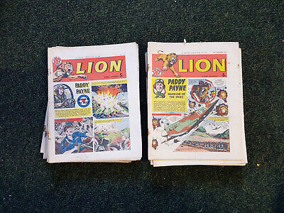 LION COMIC - FULL YEAR!! 52 issues from 1963