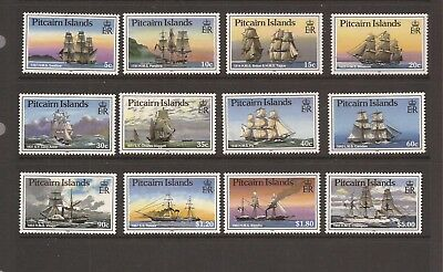 Pitcairn Island 1988 Ships Mnh Set Of Stamps