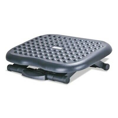 Alera Relaxing Adjustable Footrest, Black (ALEFS212)