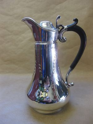 Antique Silver Plated Claret / Water Jug by Thomas Wilkinson ~ Swags & Garlands