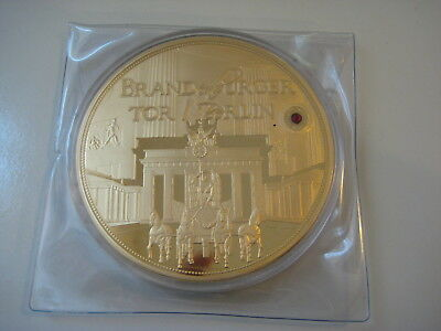 (847) Giant Medaille Brandenburger Tor / Berlin
