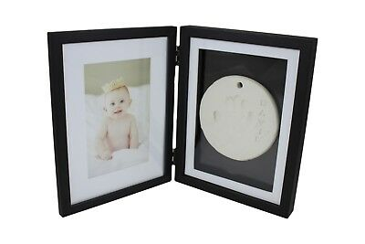 Shadow Box Baby Clay Print Frame -1 pc - Two sides for pictures, prints