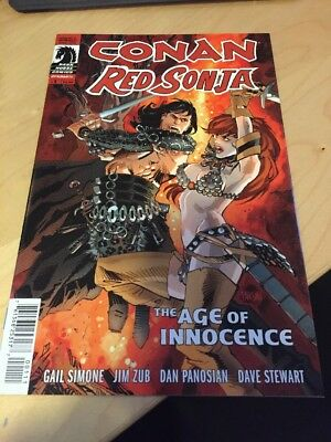 Conan The Barbarian Red Sonja Dark Horse Dynamite Gail Simone Age Of Innocence