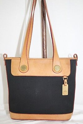 RARE Vintage Dooney & Bourke Cabriolet Collection SMALL BUCKET BAG Made in USA