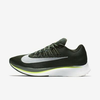 d4767dfffca07 Nike Zoom Fly Running Shoe Men S Size 10 Sequoia Green Olive Black 880848  301