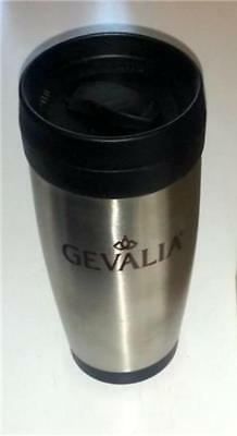 Gevalia Insulated Travel Coffee Cup Mug 16 Ounce Stainless NEW
