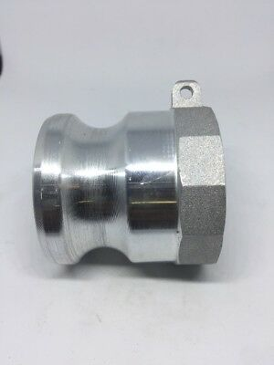 "150-A-AL, Male Cam Lock X 1.5"" Female NPT, Aluminum Cam And Groove Fitting"