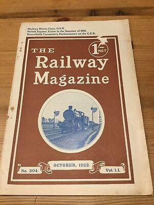 The Railway Magazine no. 304, October 1922.