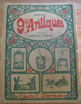 WARMAN'S 9th ANTIQUES AND THEIR CURRENT PRICES 1969