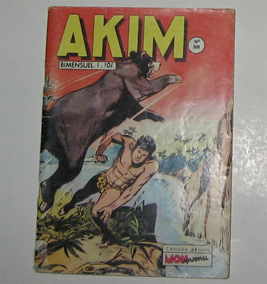 "Akim  N° 309 Tbe Juin 1972 (Editions ""mon Journal"")"