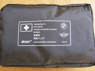 Genuine 2018 BMW Mini In Car First Aid Kit Sterile Date 31-05-2023