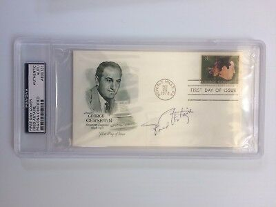 Fred Astaire Signed Autographed First Day Cover FDC PSA Slabbed - FREE SHIPPING!
