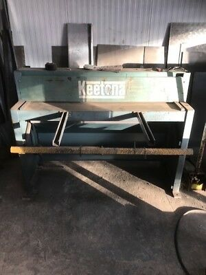 Keetona Sheet Metal Guillotine