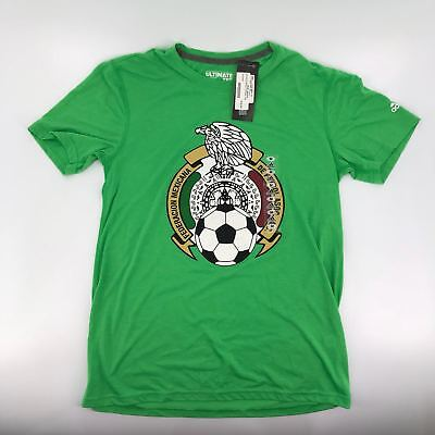 c5aa0ab8e Adidas Mexico International Soccer Team Gift T-Shirt Tee Russia World Cup  S