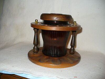 Pipe Stand And Humidor Holds 10 Pipes C W Products Corp Ny