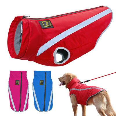 Dog Coat Waterproof Reflective Pet Clothes For Big Dogs Jacket
