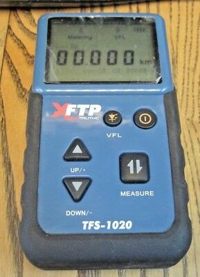 Trilithic TFS-1020 Fiber Optic Test Measurement Optical Fault Finder Meter OTDR
