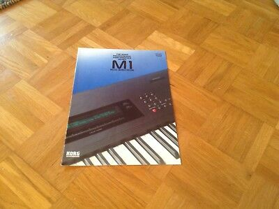 Korg M1 Workstation Prospekt