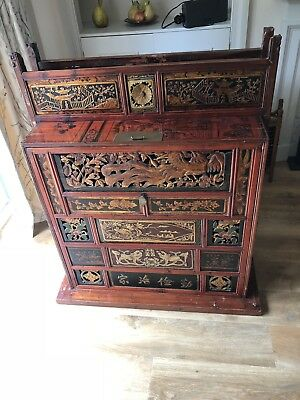 Chinese Wedding Chest / Cabinet