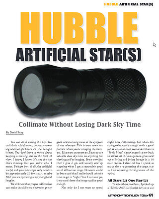 Hubble Optics 5-Star Artificial Star(s) for Collimating and Testing Telescopes