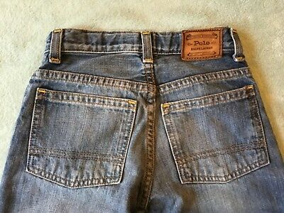 Polo,ralph Lauren,leather Badge,loose-Fit Stonewashed  Jeans/trousers Age 5