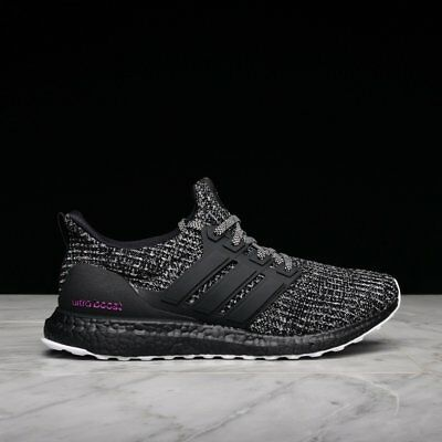 release date 5b9d7 d7178 (BC0247) ADIDAS ULTRA BOOST 4.0 BREAST CANCER AWARENESS BLACK/PINK Men New  8-13