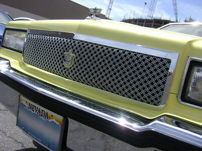 CHEVY CAPRICE DONK chrome grill double weave mesh grille 1pc